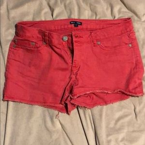 Women's gap shorts red/coral size 8